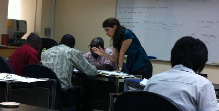 教育訓練與學員互動