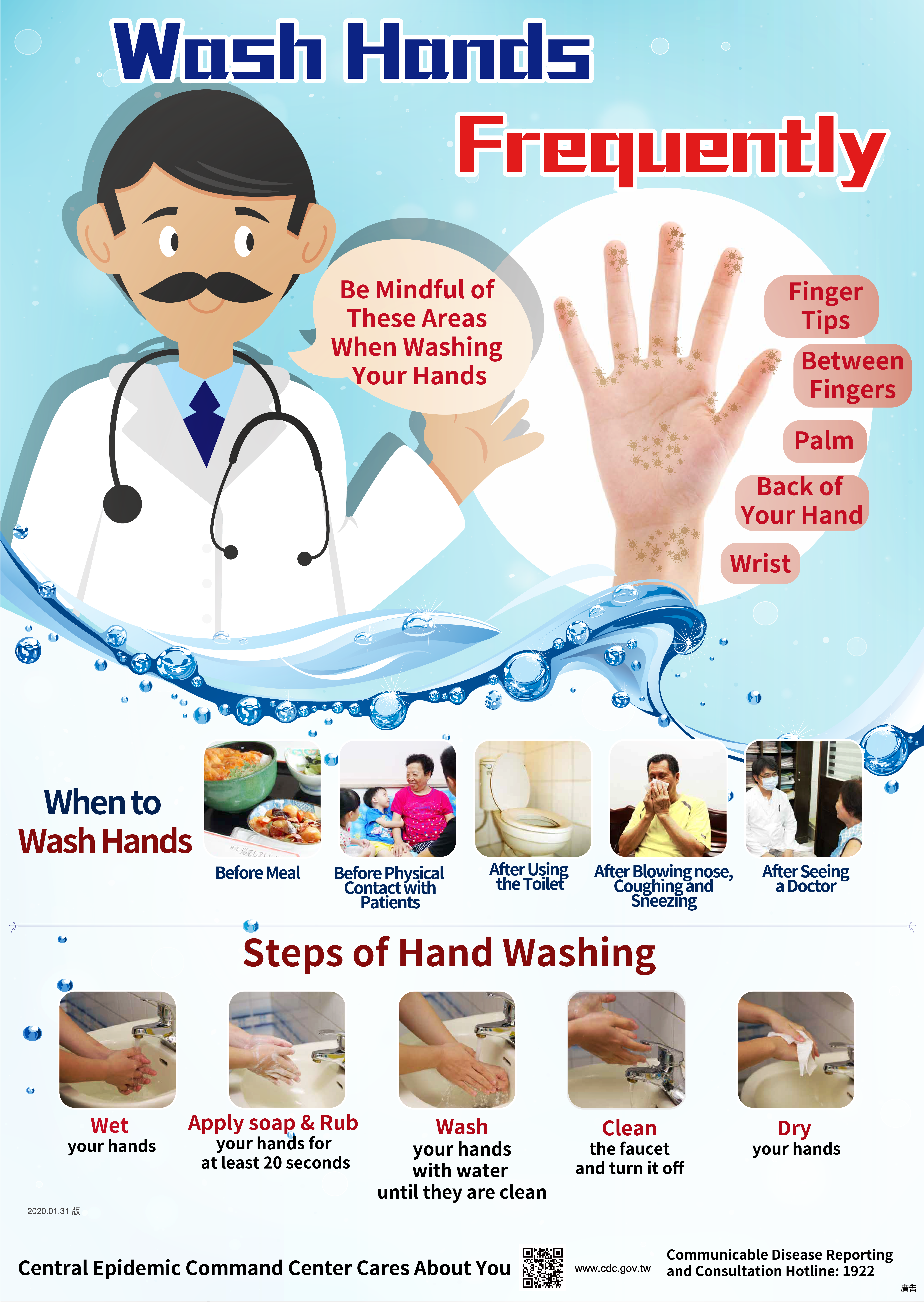 Wash Your Hand Frequently