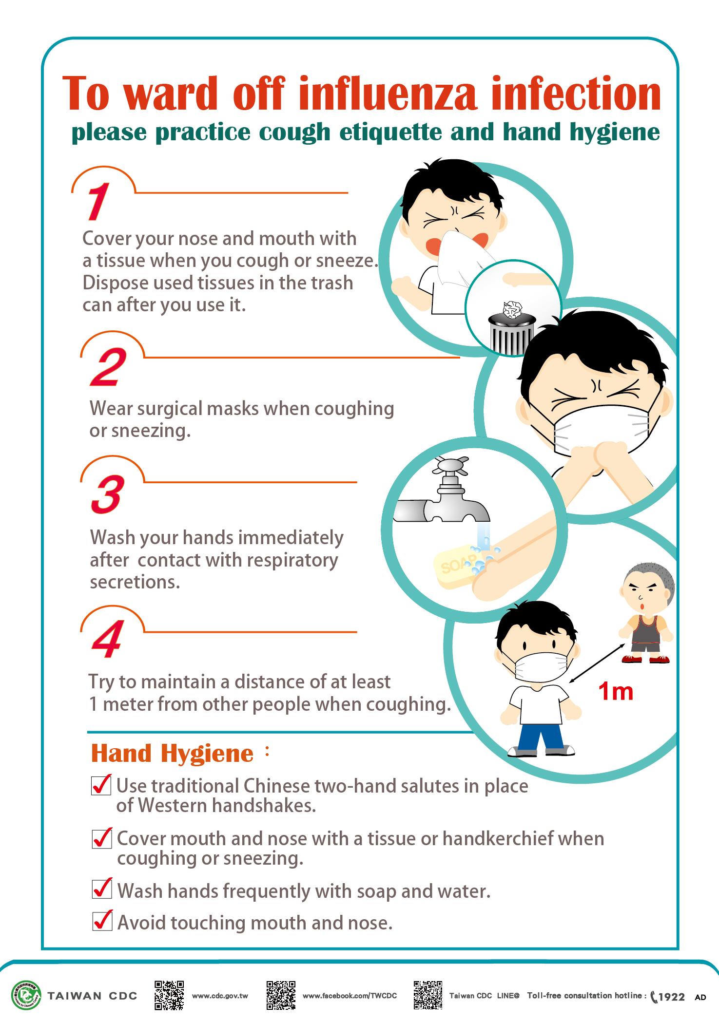 詳如附件【click me】Influenza prevention流感預防(英文)