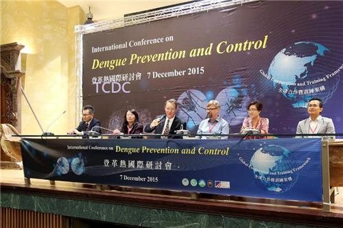 The conference gathered dengue experts from 12 countriesto promote the exchange and sharing of knowledge and information on dengueprevention and control. In addition, environmental and public health officialsfrom 10 countries in the Asia Pacific and Southeast Asia regions were invitedto participate in the conference to share the current dengue status and denguecontrol strategies in respective country.